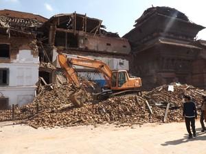 Baiano conta momento em que sentiu tremor de terra no Nepal (Foto: Manoel Tenório/Arquivo Pessoal)