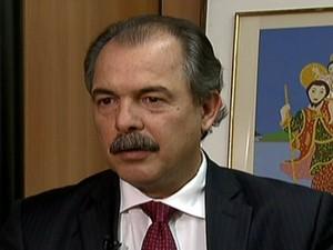 Aloizio Mercadante (Foto: Reprodução Globo News)