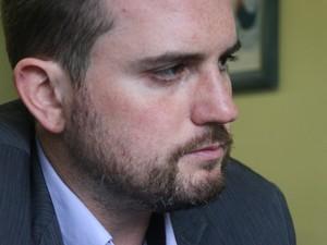 Fabio Ostermann é candidato a prefeito de Porto Alegre (Foto: Joyce Heurich/G1)