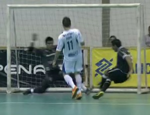 FRAME - São José 3 x 3 Corinthians (Foto: Reprodução SporTV)