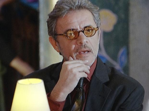 Duque fica impressionado com a performance de Guiomar (Foto: Flor do Caribe / TV Globo)