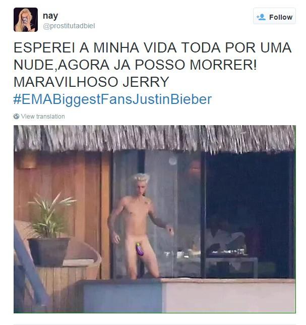 Twitter Justin Biber (Foto: Twitter / Reprodução)