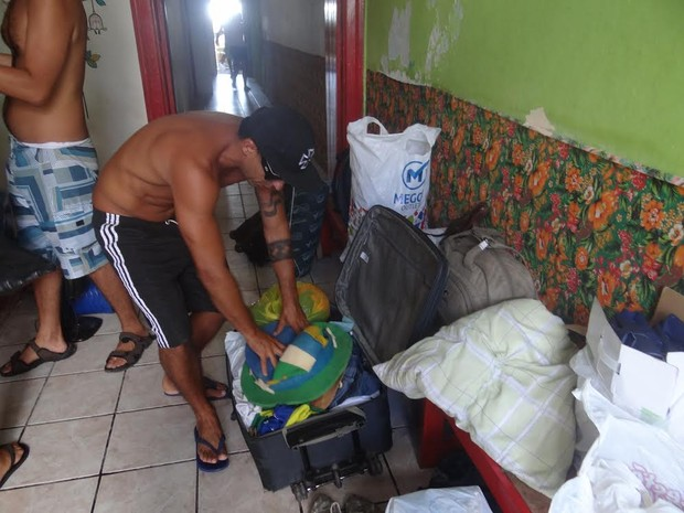 Quarta de Cinzas foi dia de arrumar malas em Olinda e preparar volta para casa (Foto: Danilo César / G1)