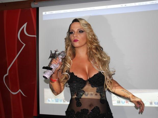 Taty Princesa em evento no Rio (Foto: Divulgação)