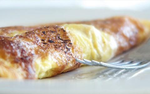 Omelete cremoso