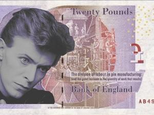 Petição pede David Bowie na cédula de 20 libras (Foto: Reprodução/Change.org)