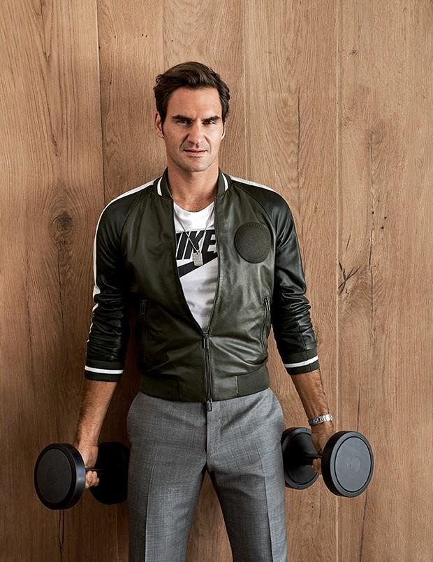 Roger Federer Moda (Foto: CRAIG McDEAN)