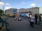 Motociclista fica ferido em acidente em avenida de Mogi das Cruzes