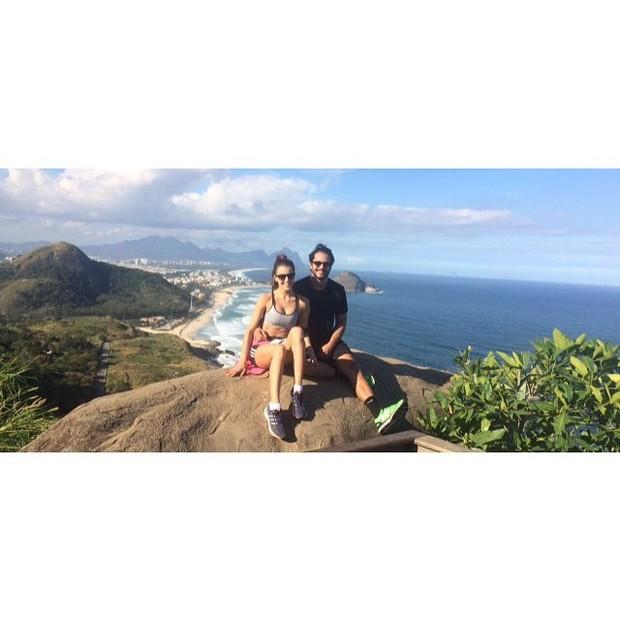 Raphael Viana e Angela (Foto: Reprodução / Instagram)