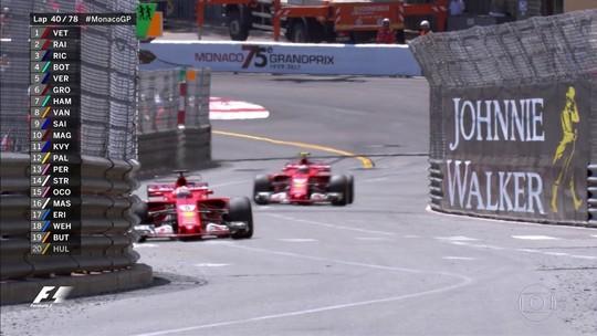"""Vettel nega jogo de equipe da Ferrari na vitória em Mônaco: """"Não foi planejado"""""""