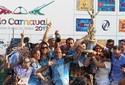 Vila Isabel celebra vitória no Carnaval 2013 no Rio