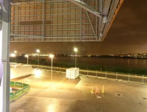 Arena do Futuro, Lagoa de Jacarepaguá, evento-teste, handebol (Foto: Thierry Gozzer)