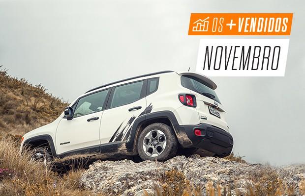 Os mais vendidos de novembro: SUVS (Foto: Autoesporte)