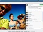 Ator posta 'selfie' com Nathalia Dill e Paula Burlamaqui em praia da PB