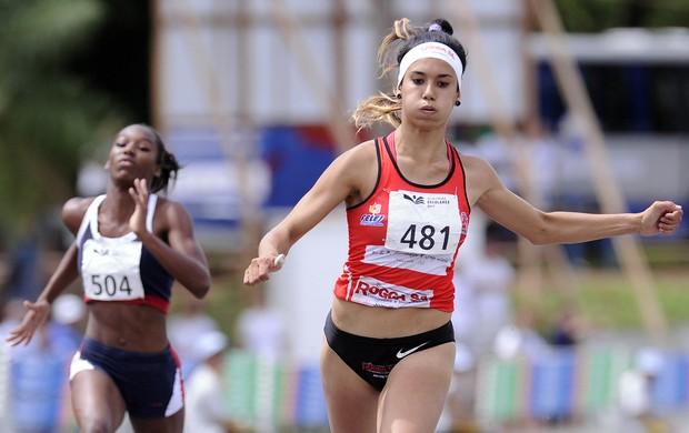 Tamiris de Liz atletismo Olimpíadas Escolares (Foto: Fernando Soutello/AGIF/COB)