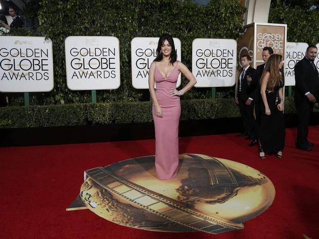 Katy Perry em premiação em Los Angeles, nos Estados Unidos (Foto: Mario Anzuoni/ Reuters)