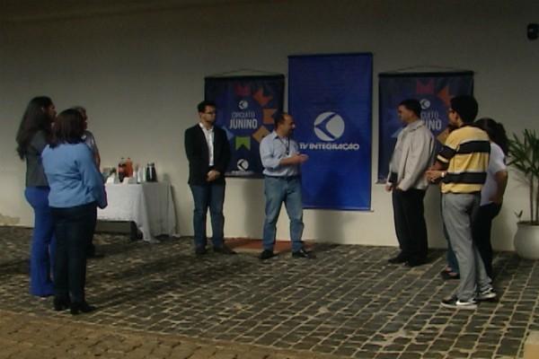 Evento foi realizado na TV Integração para parceiros e colaboradores (Foto: Divulgação)