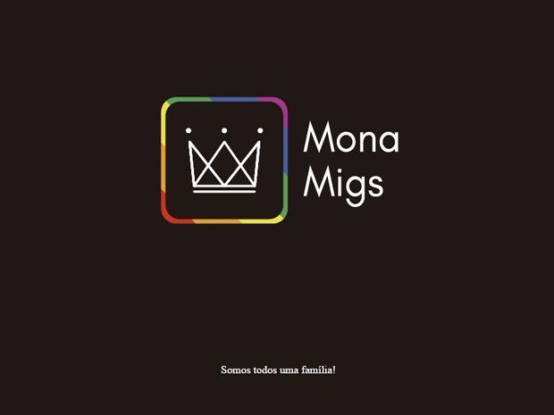 Site Mona Migs (Foto: Divulgação)