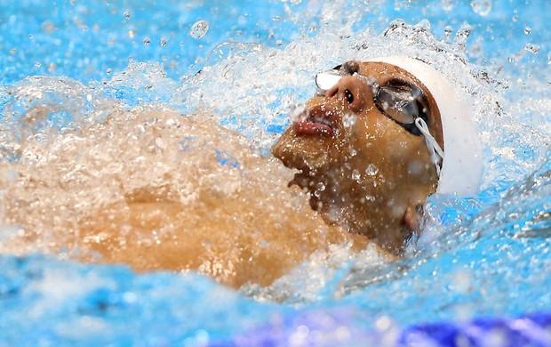 Em duelo contra americano, Andre Brasil leva prata nos 100m costas S10 (Foto: Divulgação/CPB)