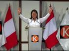 Filha de ex-presidente preso vence primeiro turno eleitoral no Peru
