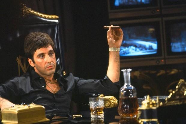 Al Pacino em cena de 'Scarface'  (Foto: reprodução)