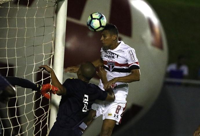 Cícero Pstc x São Paulo (Foto: Rubens Chiri/saopaulofc.net)