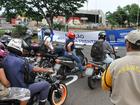 Motociclistas ganham faixa exclusiva em semáforos na capital de MS