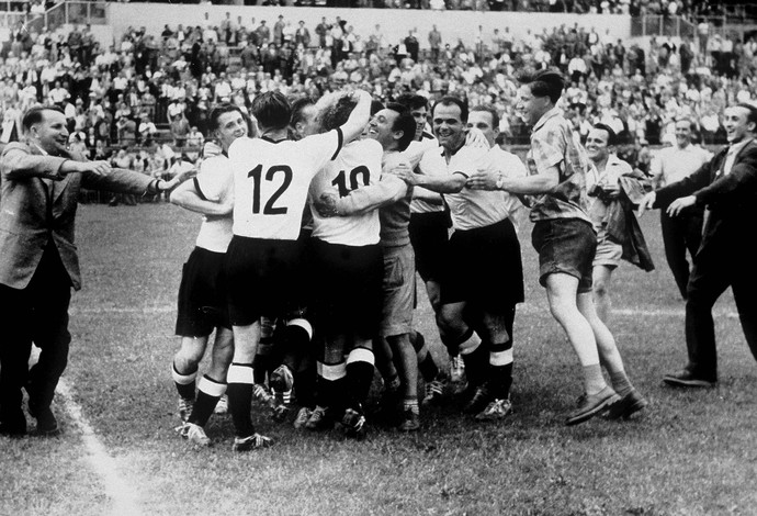 Copa do mundo: Alemanhã campeã 1954 (Foto: Getty Images)