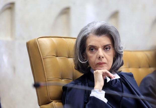 A ministra Cármen Lúcia toma posse como presidente do Supremo Tribunal Federal (STF) em setembro de 2016 (Foto: Felipe Sampaio/SCO/STF)