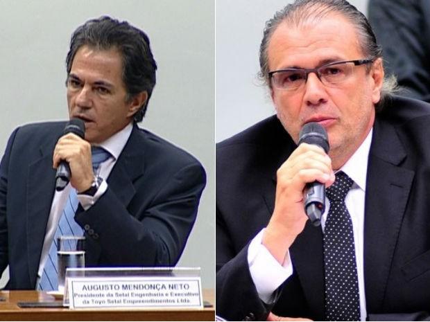 Augusto Mendonça e Pedro Barusco serão ouvidos como testemunhas de acusação  (Foto: Reprodução / GloboNews e Zeca Ribeiro/Câmara dos Deputados)