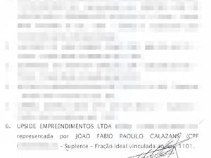 Upside Empreendimentos que segundo reportagem da Folha de São Paulo, uma das sócias é Fernanda Veira Lima Paolilo, prima do ministro Geddel (Foto: Divulgação)