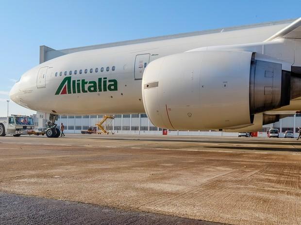 A empresa aérea Alitalia amargou perdas milionárias (Foto: Divulgação/Alitalia)
