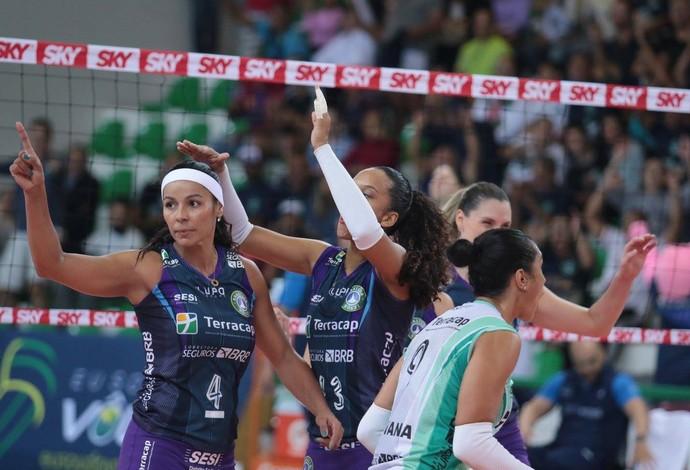 Brasília x Osasco Superliga feminina vôlei (Foto: Divulgação)
