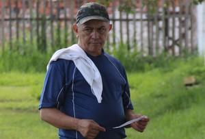 Raimundo Ferreira, diretor de futebol e técnico do Vasco-AC (Foto: João Paulo Maia)