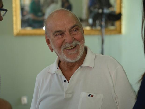 Lima Duarte está no elenco do filme que faz homenagem à Carlos Gomes  (Foto: Ana Clara Rampazzo/G1)