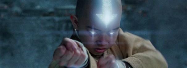 Noah Ringer ganhou papel após mostrar vídeo caracterizado de Aang (Foto: Divulgação / Reprodução)
