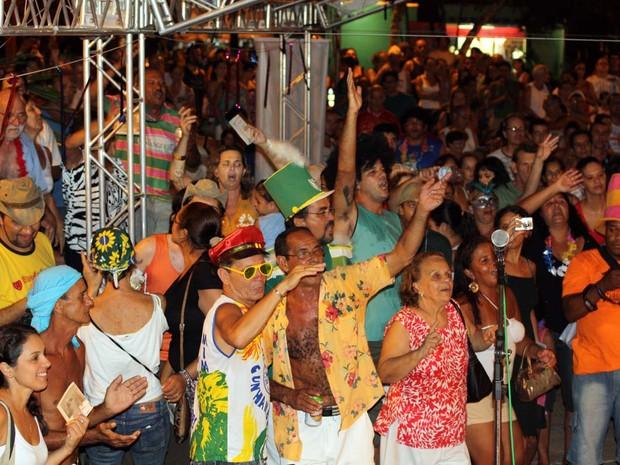 Final do Festival de Marchinhas de Ubatuba em 2012 (Foto: Divulgação/René Nagaya)
