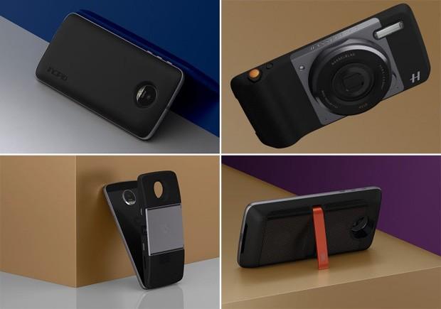 Os quatro Moto Snaps, para prepará-lo para qualquer ocasião (Foto: Divulgação)