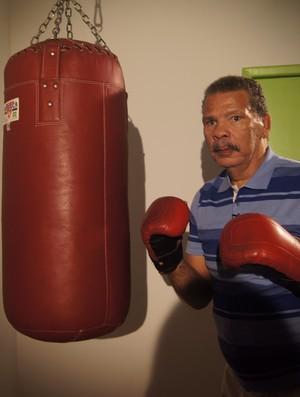 Maguila lutador hospital são paulo boxe (Foto: Amanda Kestelman)