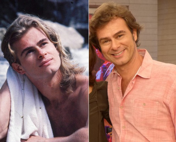 João Vitti lembra do assédio na época em que interpretava o 'cabeludo' Xampu, em Despedida de Solteiro (Foto: Cedoc / TV Globo / Gshow)