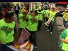 Servidores realizam manifestação conjunta em Aracaju