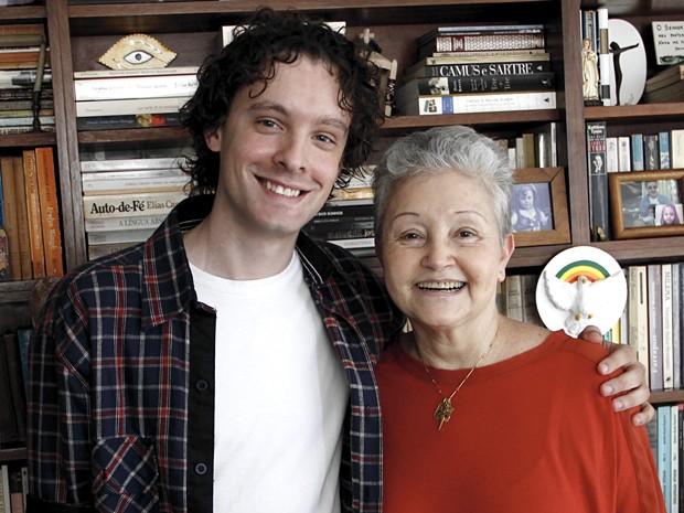 Vincent Villari e Maria Adelaide tecem elogios a João Emanuel Carneiro (Foto: Divulgação)