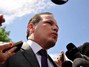 O ex-governador de Mato Grosso Silval Barbosa (PMDB). (Foto: Renê Dióz / G1)