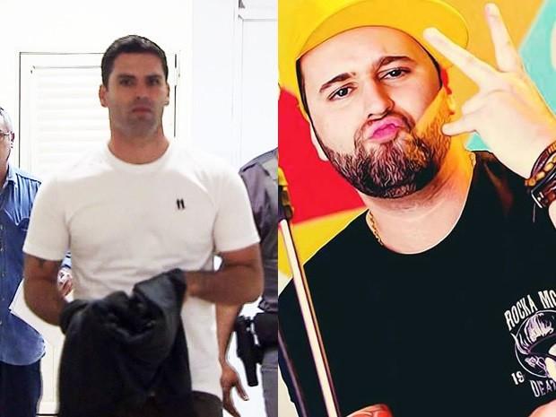 Elize disse que se relacionou com Thiago e Dan ao mesmo tempo (Foto: Reprodução / TV Tribuna / Arquivo Pessoal)