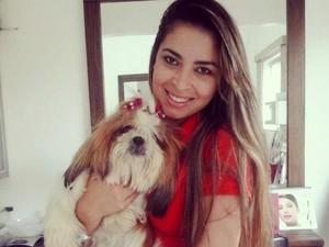 Késia Freitas Cardoso, de Paraíso do Tocantins, foi encontrada morta em Uberlândia (Foto: Reprodução/Facebook)