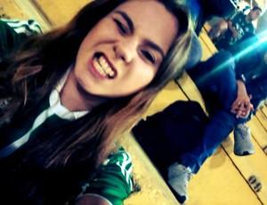 Meu Palmeiras - Camila Polese (Foto: Arquivo Pessoal)