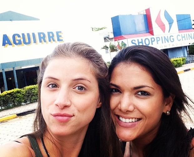 Angela Sousa e Carol Oliveira