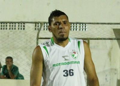 Goleiro Luciano (Foto: Emerson Rocha)