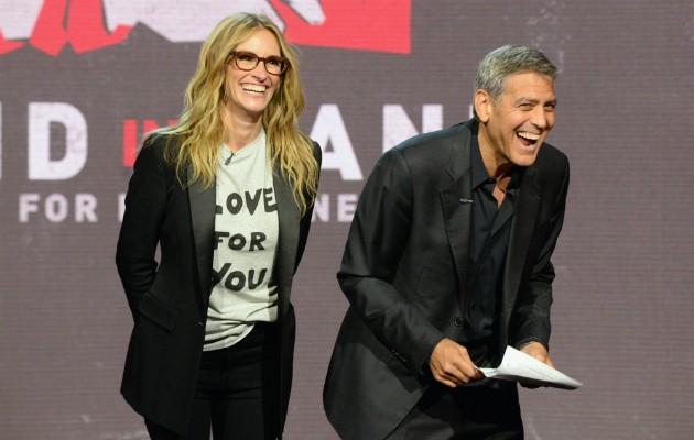George Clooney e Julia Roberts (Foto: Getty)