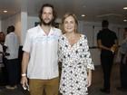 Adriana Esteves e Vladimir Brichta conferem show no Rio